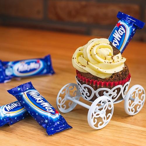 Milky Way Cupcake