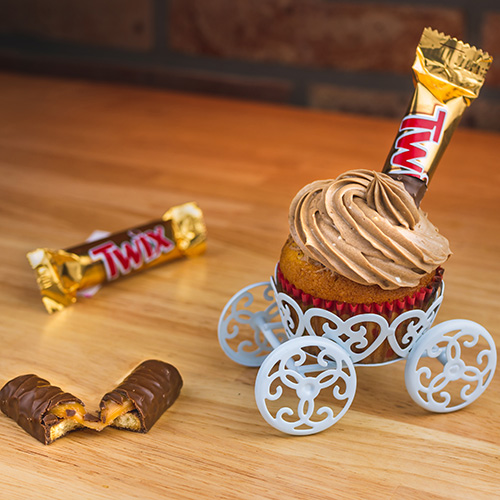 Twix Cupcake